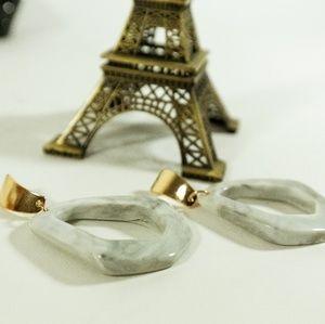 Sale! 2/$20 or 3/$25 Marble drop earrings